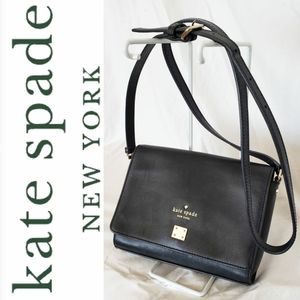 Kate Spade ♠️ Black Gold Crossbody